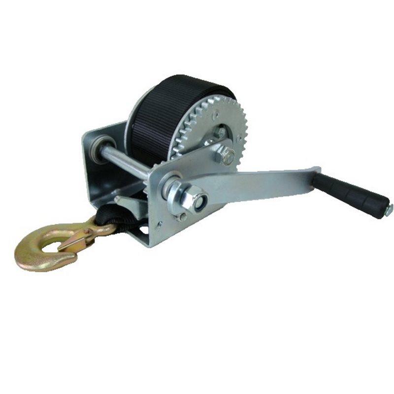 Treuil avec courroie ou cable