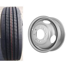ASS.235 / 80-R16  14P 8T  DOUBLE (GRIS)  ALLSTEEL FREEDOM